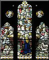 TQ3298 : St Luke, Browning Road, Enfield - Stained glass window by John Salmon
