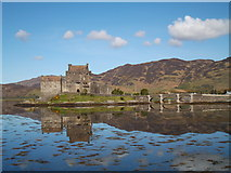 NG8825 : Eilean Donan Castle by colin rountree