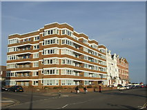 TQ7407 : Flats on the seafront, Bexhill by Malc McDonald