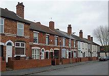 SO9596 : Terraced housing in Bilston, Wolverhampton by Roger  Kidd