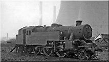 TQ2182 : Forlorn 2-6-4T at Willesden Locomotive Depot by Ben Brooksbank