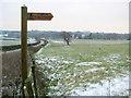 SP0071 : Footpath Near Wheeley Farm by Nigel Mykura