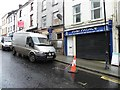 H4572 : Renovations in Georges Street, Omagh by Kenneth  Allen