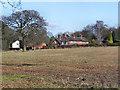 SJ8383 : Cottages on Holt's Lane, Styal Village by David Dixon