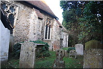 TR1859 : Graveyard, Church of St Mary by N Chadwick