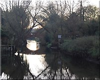 TR1859 : Great Stour at Fordwich by N Chadwick