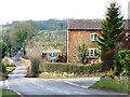 SK1638 : Crossroads in Great Cubley by Christine Johnstone