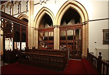 TQ2382 : St Martin, Mortimer Road, Kensal Rise - Organ by John Salmon