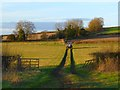 SP8804 : Farmland and track, Wendover by Andrew Smith