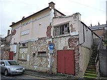 SJ0566 : Ruined cinema in Denbigh by Jeremy Bolwell