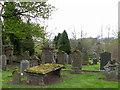 NN8725 : Kirkyard, Monzie by Maigheach-gheal