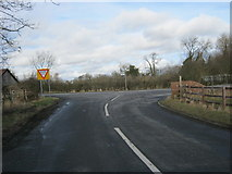 NZ3621 : Minor road joining the Great Stainton to Bishopton road by peter robinson