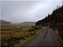 NM8617 : Road leading to the Braes of Lorn by Alan Reid