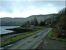 NM8312 : The Melfort road by Loch na Cille by Alan Reid