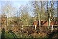 TQ5942 : Ruins of Barnett's Farm Oast by N Chadwick