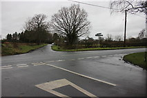 SJ8270 : Windyharbour Crossroads, Siddington by Peter Turner