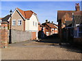 TM3877 : Old Brewery Yard, Halesworth by Adrian Cable