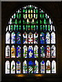 ST6316 : West window, Sherborne Abbey by Maigheach-gheal