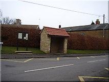 SK8836 : High Road bus shelter, Barrowby by Anthony Vosper