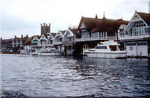 SU7682 : River frontage, Henley on Thames by PGJ