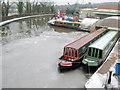 SP0272 : Narrow Boat Depot Alvechurch by Nigel Mykura
