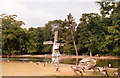 SP0683 : Windmill at Cannon Hill Park 1989 by Roy Hughes