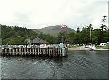 NY3916 : Glenridding Pier, Ullswater by Rose and Trev Clough