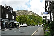 NY3816 : The A592 through Glenridding by Rose and Trev Clough