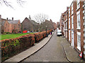 SJ4066 : Cathedral Close by Stephen Craven