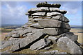 SX1480 : Rock outcrops, Rough Tor by Philip Halling