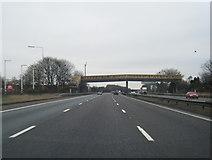 SJ7760 : M6 southbound at Sandbach services by Colin Pyle