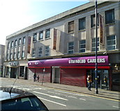 SS6593 : Military recruitment offices, Castle Street, Swansea by Jaggery