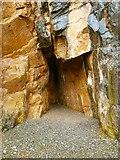 NX4235 : St Ninian's Cave by Andy Farrington
