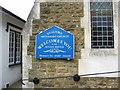 TQ0046 : Name board on Shalford Methodist Church, Kings Road, Shalford by P L Chadwick