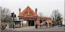 TQ2473 : Southfield Station by John Salmon
