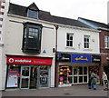 SO9570 : Bromsgrove High Street  Vodafone & Thorntons/Hallmark by Roy Hughes