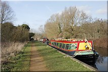 SU5666 : First of the narrowboats by Bill Nicholls