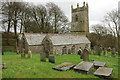 SX0878 : Michaelstow church by Philip Halling