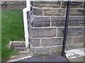 SE3300 : Cut benchmark on Pilley Methodist Church by John Slater