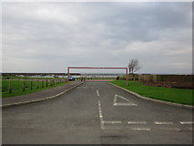NS2107 : Harbour Car Park by Billy McCrorie