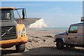 TV5197 : Rebuilding the beach at Cuckmere Haven by Oast House Archive