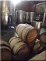 TQ1651 : Wine Barrels, Denbies by Colin Smith