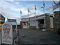 SH8480 : Rhos Point Sea Sports Centre, Rhôs-on-Sea by Steven Haslington