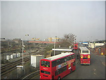 TQ2182 : Willesden Junction bus station by Christopher Hilton