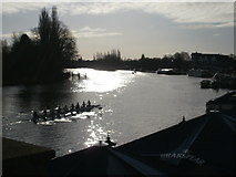 SU7682 : Sparkling river at Henley-on-Thames by Peter S