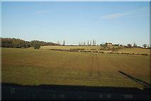 SK1409 : Farming landscape near Lichfield by N Chadwick