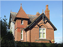SO9097 : Detached house (detail) on Penn Road, Wolverhampton by Roger  Kidd
