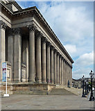 SJ3490 : Detail of St George's Hall, Lime Street, Liverpool (1) by Stephen Richards