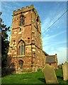 SJ4657 : All Saints Church, Handley by Jeff Buck