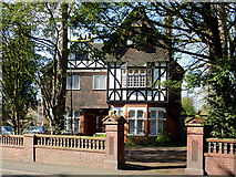 SO9097 : Large detached house on Penn Road, Wolverhampton by Roger  Kidd
